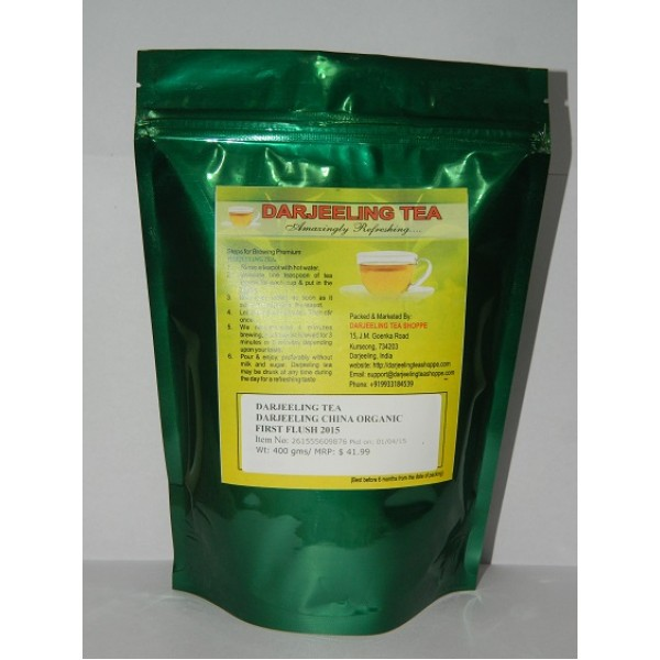 Darjeeling China Organic Tea 400 Grams